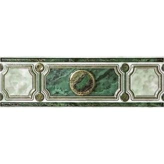 Бордюр Inter Cerama PIETRA 23x7,5 см зеленый