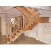 Виготовлення дерев'яних сходів нестандартних конструкцій