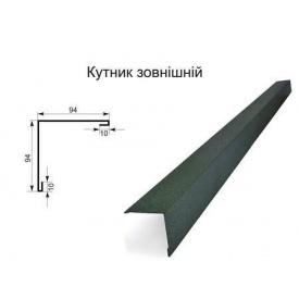 Кут зовнішній 2 м 0,5 мм