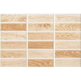 Керамічна плитка Inter Cerama MADERA для стін 23x35 см коричневий світлий