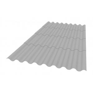 Кровельный материал Керамопласт Каскад 1880х870х5 мм серый