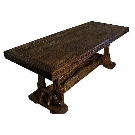 стол под старину из дерева йорк 2 цена мебель West Ibudua