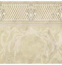Плитка керамическая BELANI Декор Грация 2 42х42 см палевый