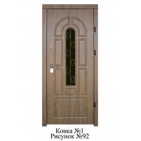 Двері вхідні броньовані Лакоста