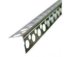 Угол стальной перфорированный 20х20, 0,4мм, 3м.