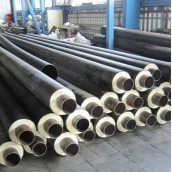 Теплоизолированная труба ППУ для теплотрасс и сетей горячего водоснабжения