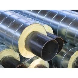Труба сталева для опалення в ізоляції ППУ