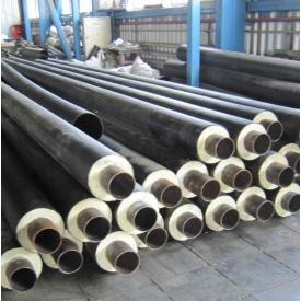 Теплоізольована труба ППУ для теплотрас та мереж гарячого водопостачання