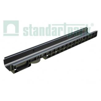 Лоток водоотводной пластиковый PolyMax Basic ЛВ-10.15.08-ПП (8010)
