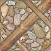 Керамогранит BELANI Аризона R 418х418 мм коричневый
