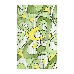 Плитка керамическая Golden Tile Рио декоративная 250х400 мм зеленый (К24321)