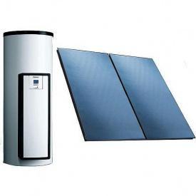 Незакіпаемая сонячна система для приготування гарячої води Vaillant auroSTEP plus 1.150 HT похилий дах (0020202863)