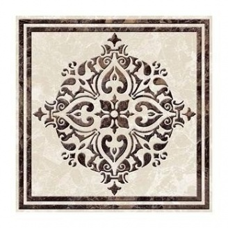 Фриз Golden Tile Вулкано 93х93 мм бежевий (Д11321)