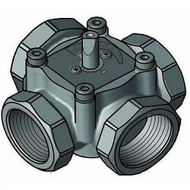 4-х ходовой смесительный клапан Meibes ЕМ4-15-25 DN15 (ЕМ4-15-25)