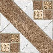 Керамическая плитка Inter Cerama COUNTRY для пола 43x43 см коричневый светлый