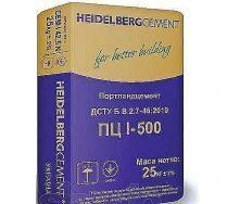 Цемент ХайдельбергЦемент М-500 ПЦ 1 25 кг