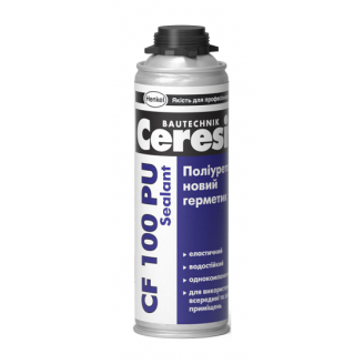 Полиуретановый герметик Ceresit CF 100 PU Sealant 600 мл белый
