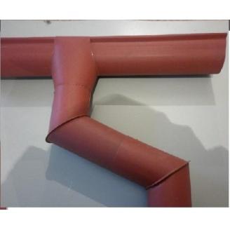 Водостічна система матова 2 м червона