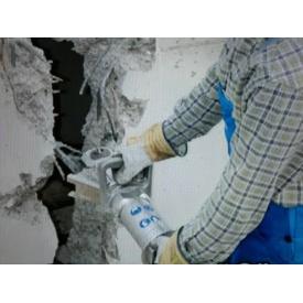 Демонтаж железобетонных стен 19 см