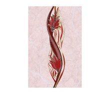 Плитка керамическая Golden Tile Александрия декоративная 200х300 мм розовый (В15361)