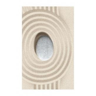 Плитка керамическая Golden Tile Summer Stone Wave декоративная 250х400 мм бежевый (В41431)