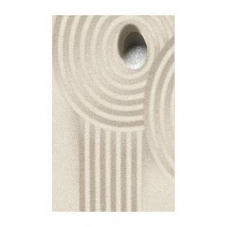Плитка керамическая Golden Tile Summer Stone Wave декоративная 250х400 мм бежевый (В41441)