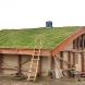 Мечта айтишника: Энергоэффективная избушка из соломы, глины и травы ФОТО