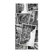 Плитка керамическая Golden Tile Absolute Collage декоративная 300х600 мм черно-белый (Г2С441)