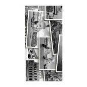Плитка керамическая Golden Tile Absolute Collage декоративная 300х600 мм черно-белый (Г2С421)