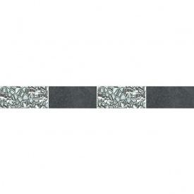 Декор Zeus Ceramica Керамограніт Casa Zeus Cemento Platinum 5х45 см Nero (mfxf98)