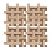 Мозаїка Zeus Ceramica Керамограніт Casa Zeus MarmoAcero 30х30 см Crema (mmcxma36)