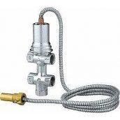 "Запобіжний клапан Caleffi 544 Biomass 1/2 "", 5-110 ° C, 6 bar, капиляр 1300 мм (544400)"