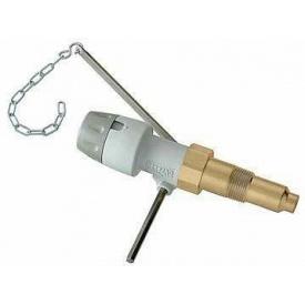 """Регулюючий клапан тяги твертоплівного котла Caleffi 529 Biomass 3/4 """", 30-90 ° C (529050)"""