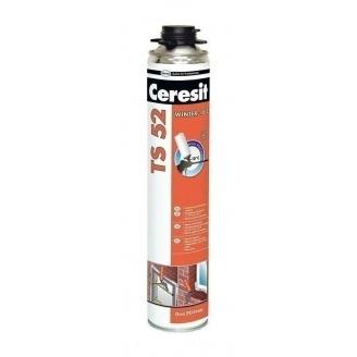 Профессиональная всесезонная монтажная пена Ceresit TS 52 750 мл (626542)