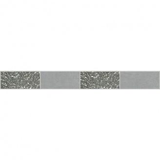 Декор Zeus Ceramica Керамограніт Casa Zeus Cemento Platinum 5х45 см Grigio (mfxf88)