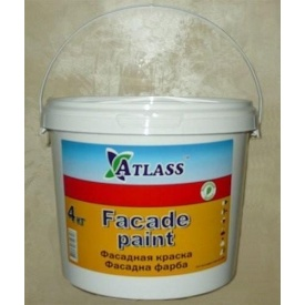 Краска фасадная Atlass Facade Paint 4 кг