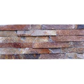 Натуральный камень Лапша торцованная 4 см папороть