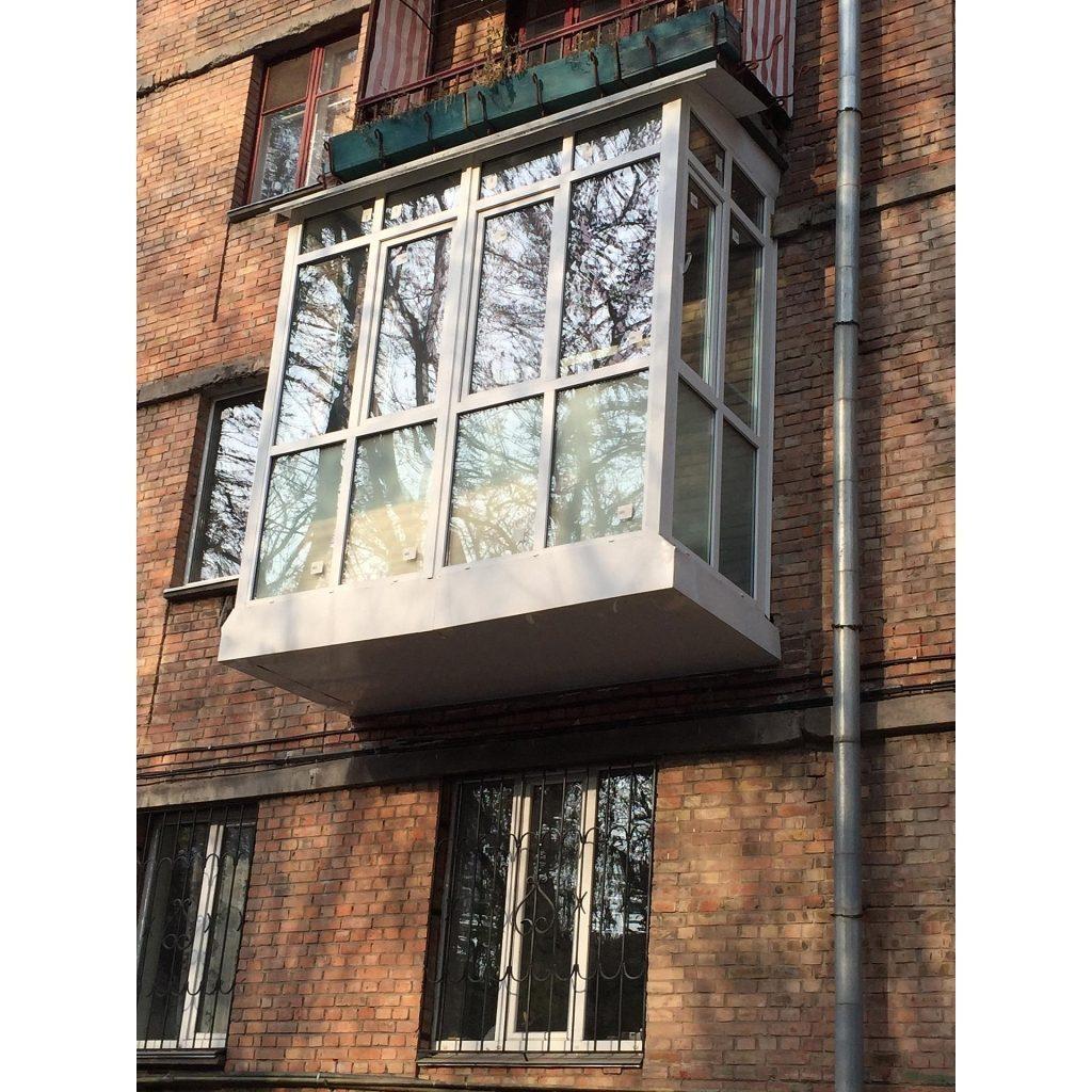 Французский балкон киев - цена на французские балконы от окн.