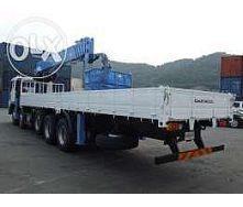 Вантажоперевезення кран-маніпулятором