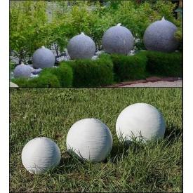 Куля-фонтан 300 мм світло-сірий