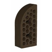 Лицевой фасонный кирпич СБК ВФ-3 1NF 250х120х65 мм какао