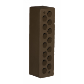 Лицевой кирпич СБК КЛГ-11 0,54NF М200 250х65х65 мм какао