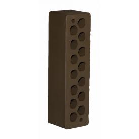 Лицева цегла СБК КЛГ-11 0,54NF М175 250х65х65 мм какао