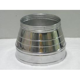 Конус димохідний з нержавіючої сталі