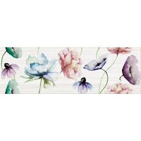 Декор Opoczno Elegant stripes inserto flower 250х750 мм