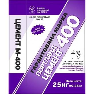 Цемент М400 ШПЦ ІIІ/A 25 кг