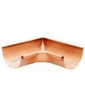 Угол желоба медный 135° Gromo 125 мм