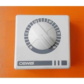 Терморегулятор CEWAL RQ-01 для инфракрасных панелей и обогревателей 76х76х34 мм