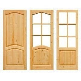 Двери межкомнатные из дерева 2000х600 мм
