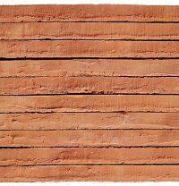 Кирпич клинкерный ручной формовки Petersen Kolumba K-23 Orange/Rot 530x108x37 мм